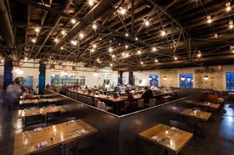 Pinewood Social Southern Food Great Bar Bowling Alley Buffets In Nashville