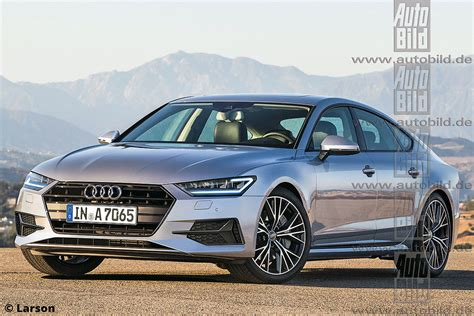 novo audi a7 2017 2017 audi a7 rendered to launch next year