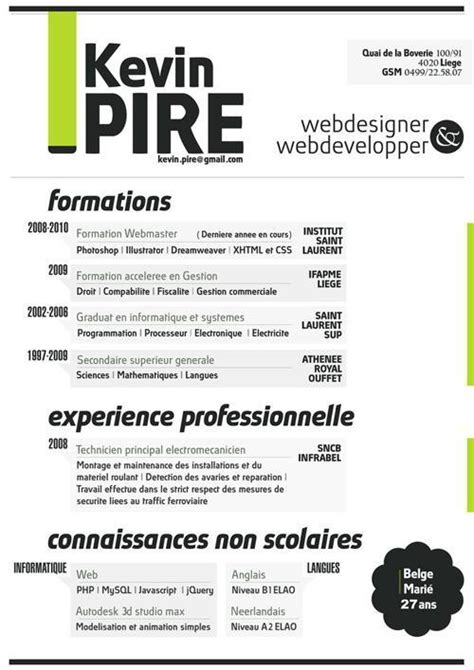 Free Typographic Resume Template 34 Exles Of Bad Resume Designs That Will Bring You A
