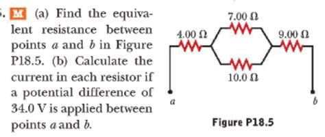 how to calculate potential difference across a resistor physics archive february 03 2014 chegg