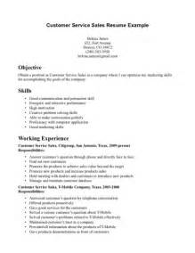 Resume Sles Customer Service by Sales Resume Usa Sales Sales Lewesmr