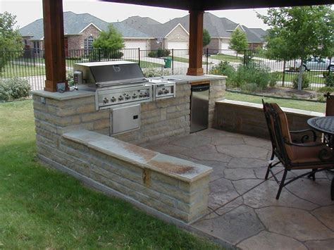 backyard bbq areas outdoor kitchen design center solid cherry wood pergola