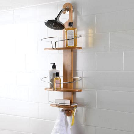 Wooden Shower Caddy by Store Ultimate Shower Caddy Bamboo