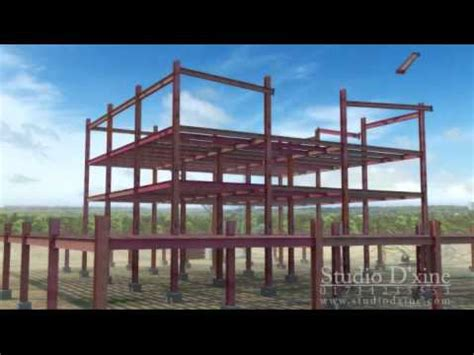 buildtrade steel construction process   YouTube