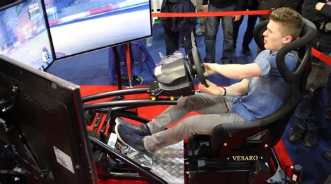 Racing Simulator Chair Hydraulic Chair With Hydraulics Looks Driving