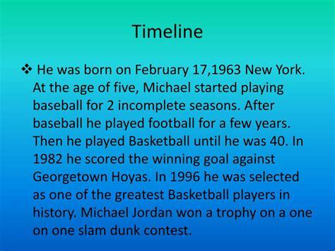 michael jordan biography ppt ppt michael jordan powerpoint presentation id 649179