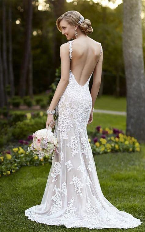 wedding dresses  neck wedding dress stella york