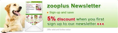discount vouchers zooplus zooplus discount code july 2015 3 off 5 more