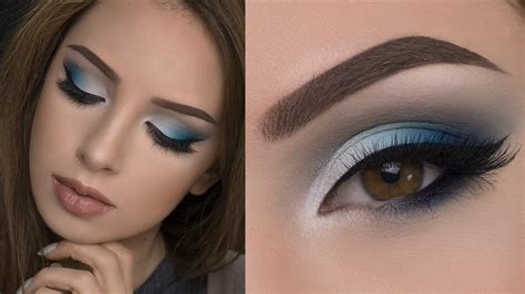 Eyeshadow Blue smokey blue eyeshadow looks www pixshark images