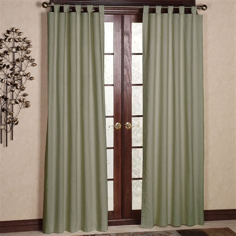 curtains tab top living room tab top curtains with white wall design and
