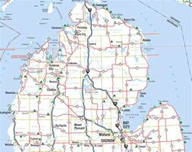 Northern Michigan Map by Michigan Roadside Parks And Scenic Turnouts Northern