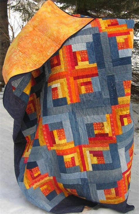 Denim Quilting by Quilt Inspiration Free Pattern Day Denim Quilts