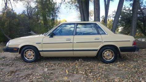 subaru gl 1983 1983 subaru gl base sedan 4 door 1 8l survivor for sale
