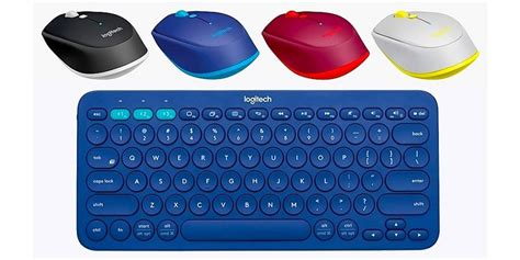 Keyboard Warna Warni Logitech Perkenalkan Keyboard Dan Mouse Bluetooth Warna Warni