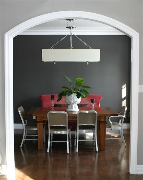 Gauntlet Gray Sherwin Williams my dining room