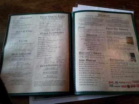 hen house menu menu picture of hen house restaurant and gift arcola tripadvisor