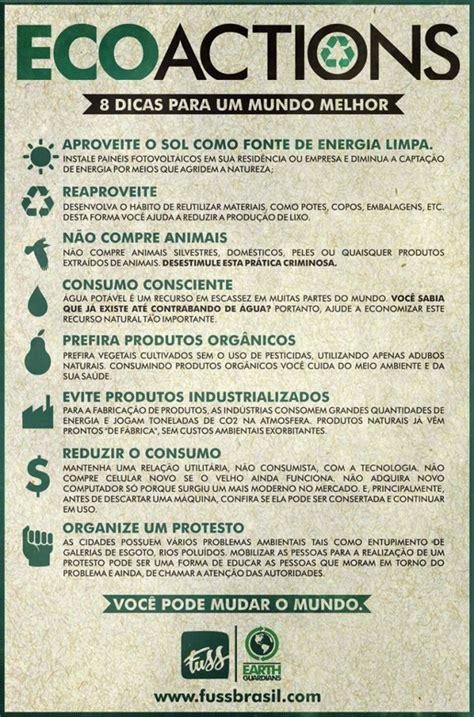 Eco Bag by Dicas Pr 225 Ticas De Como Melhorar O Meio Ambiente Meio