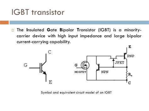 bipolar transistor input impedance power semiconductor systems i ppt