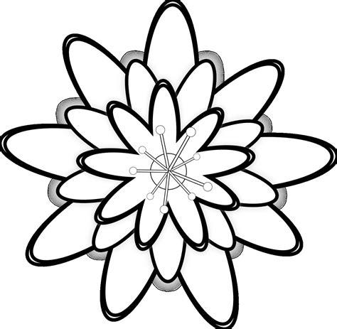 gambar ilustrasi bunga mawar hitam putih iluszi