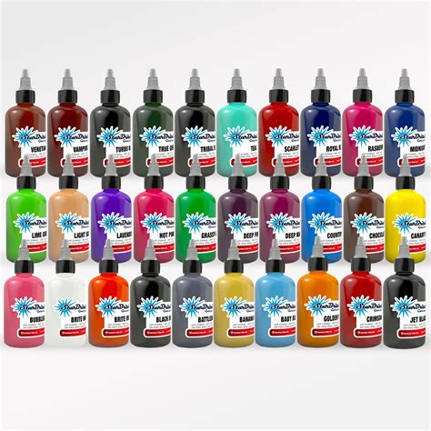 starbrite tattoo ink starbrite ink pro 30 color set