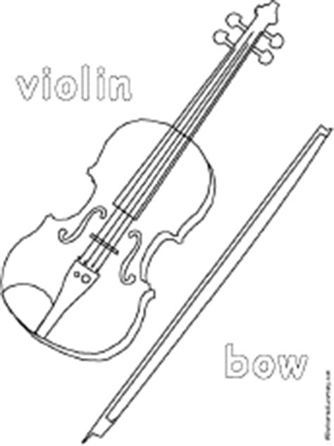 coloring pages of string instruments musical instrument coloring pages enchantedlearning com