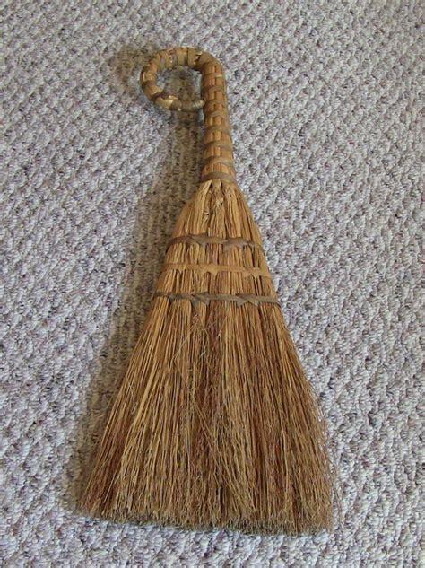 Handmade Brooms - vintage hearth broom handmade rustic farmhouse cottage