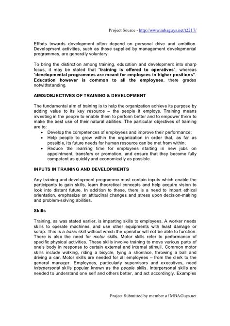 Justification Letter For Higher Education Hrm Development