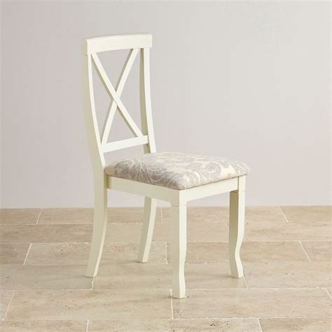 Patterned Fabric Dining Chairs Brushed Oak And Painted And Patterned Grey Fabric Dining Chair