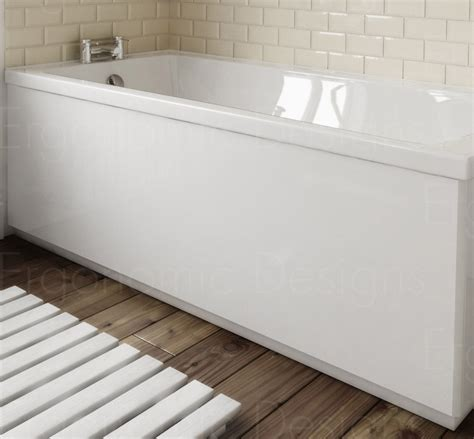 1800mm shower bath ergonomic designs bathroom white bath side panel 1500mm ebay
