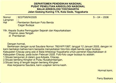 contoh surat pribadi bahasa sunda wisata dan info sumbar
