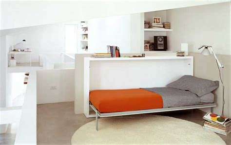 fold away furniture poppi horisontal fold away wall bed with desk on request