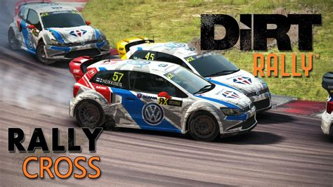 volkswagen polo rallycross rallycross update dirt rally hd ger volkswagen polo