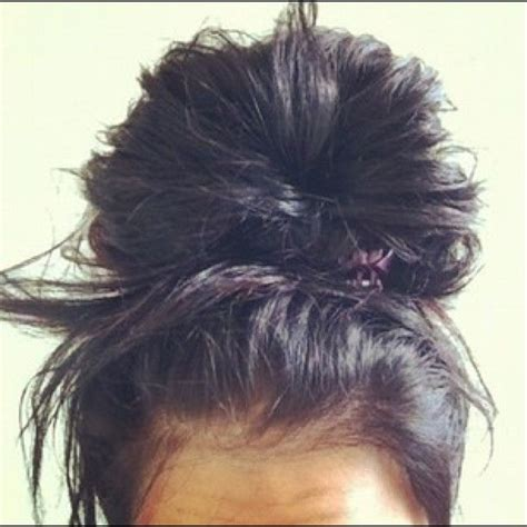 bun hair direction the 25 best big messy buns ideas on pinterest second