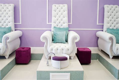 Pedicure And Manicure Chairs by Custom Made Chair With Ceramic Pedicure Bowl Yelp