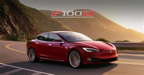 4 Door Tesla Tesla Model S P100d Accelerates To Set World Record For