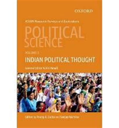 Mba In Political Science In India by Political Science Indian Political Thought V 3 Pradip