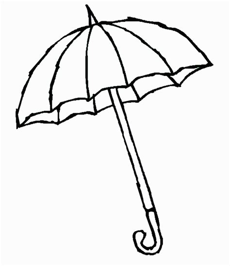 umbrella pattern to color printable umbrella pattern az coloring pages clipart