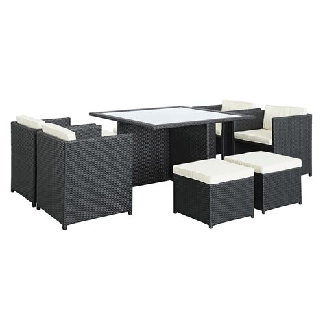 Garden Furniture Inverness inverness modern outdoor dining table set eurway