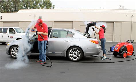 car detailing steamer mobile car wash with the optima steamer steamericas