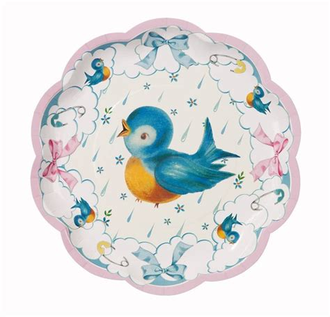 Paper Plates For Baby Shower by Baby Shower Paper Plates By Postbox