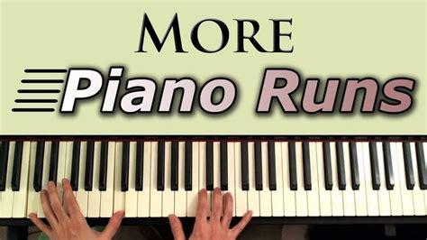 keyboard runs tutorial learn to play more piano runs and fills simple piano