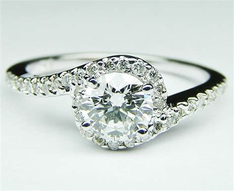 engagement ring swirl pave engagement ring 0 16