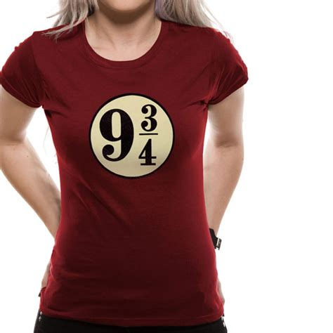 T Shirt 3 4 t shirt harry potter pour femme mod 232 le voie express 9 3 4
