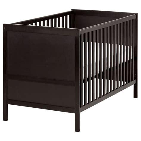 Baby Box Ikea sundvik crib black brown sleep toddlers and cots