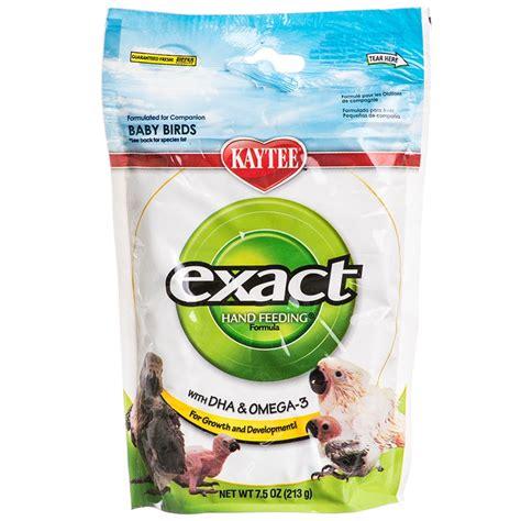 kaytee exact kaytee exact hand feeding formula for all