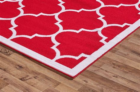 large thin rug large modern geometric moroccan trellis thin carpet contemporary area rug ebay