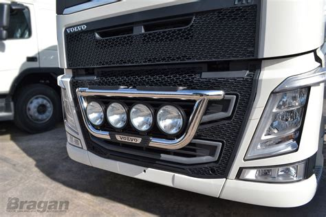 volvo light trucks volvo fh 4 2013 polished stainless steel grill light bar
