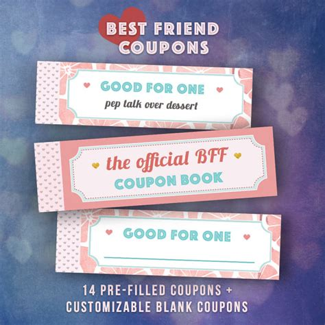 best books for gifts best friends gifts diy coupon book single friend bff