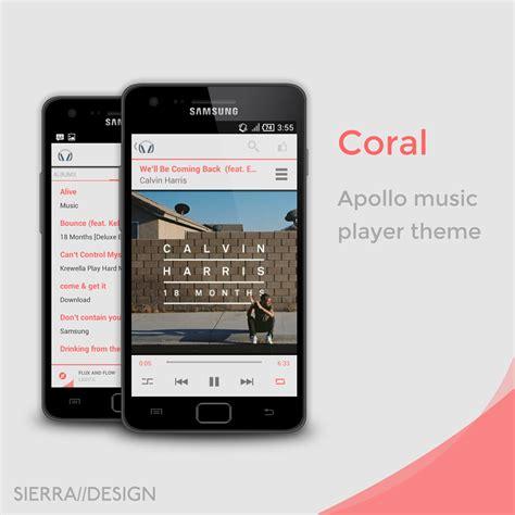 apollo themes redwood apk coral apollo theme by sierradesign on deviantart