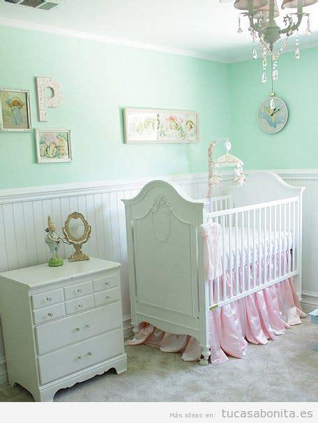 decoracion habitacion bebe verde mint dormitorios infantiles tu casa bonita ideas para
